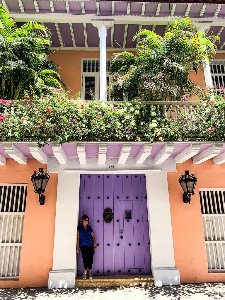 Карен в Картахене, Колумбия
