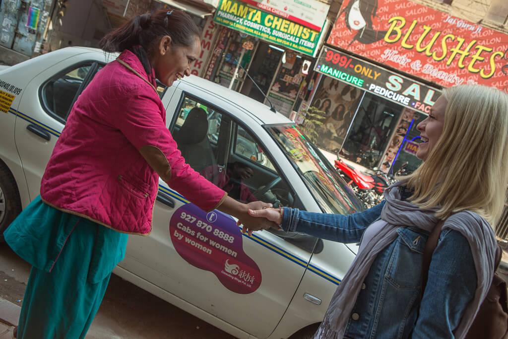 Женщины на колесах Индия