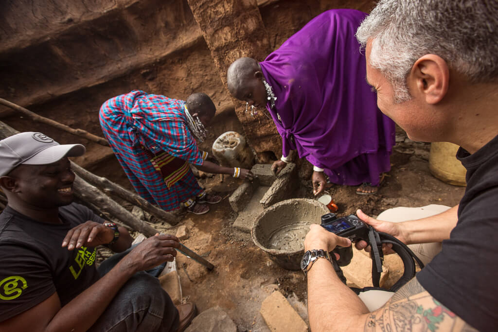 Кухонные плиты в Африке