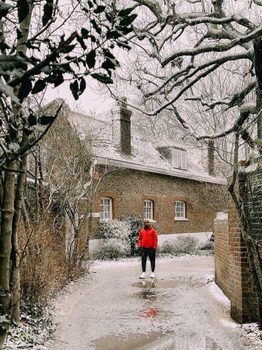 Гринвичский парк в зимнем Лондоне