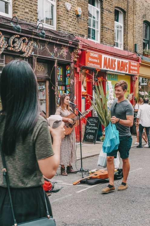 Лондонский рынок Brick Lane