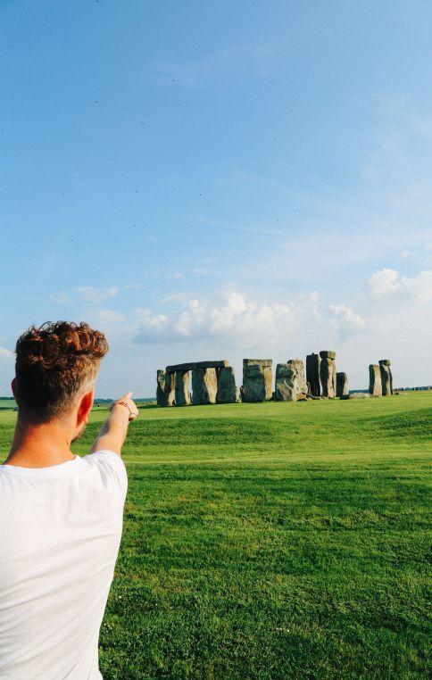 Стоунхендж - Солсбери - начало нашего великого английского путешествия! (18)
