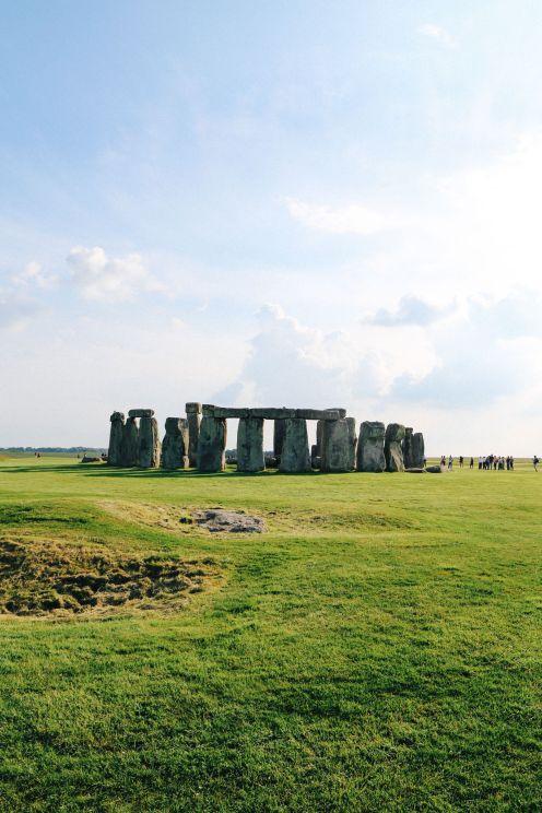 Стоунхендж - Солсбери - начало нашей великой английской поездки! (17)