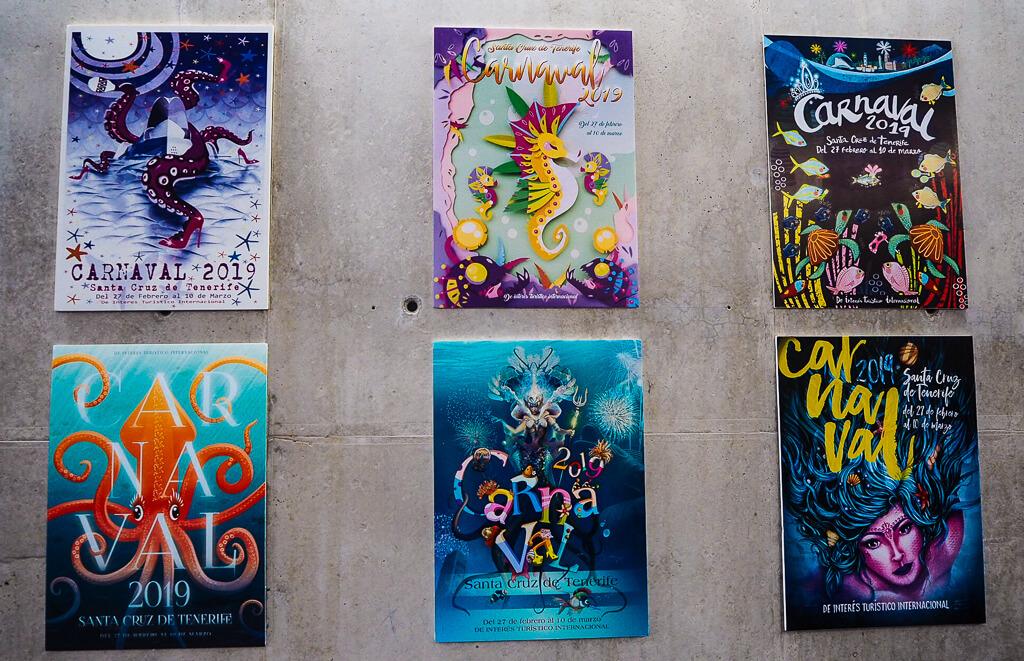 Плакаты в Casa del Carnaval Tenerife