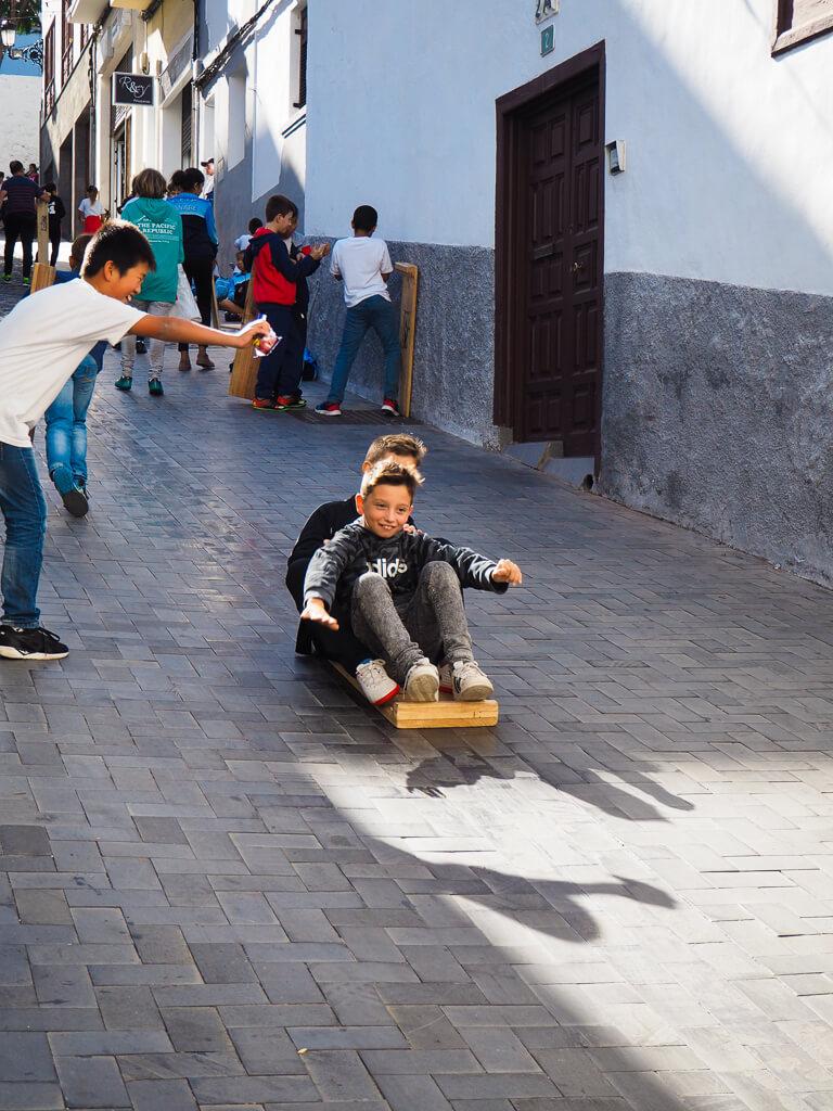 Празднование Дня святого Андрея в Икод-де-лос-Винос, Тенерифе