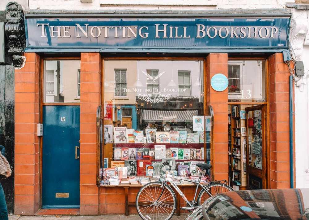 Знаменитый книжный магазин Notting Hill Film в Лондоне