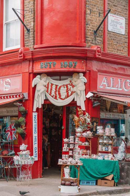 Alice's на Портобелло-роуд