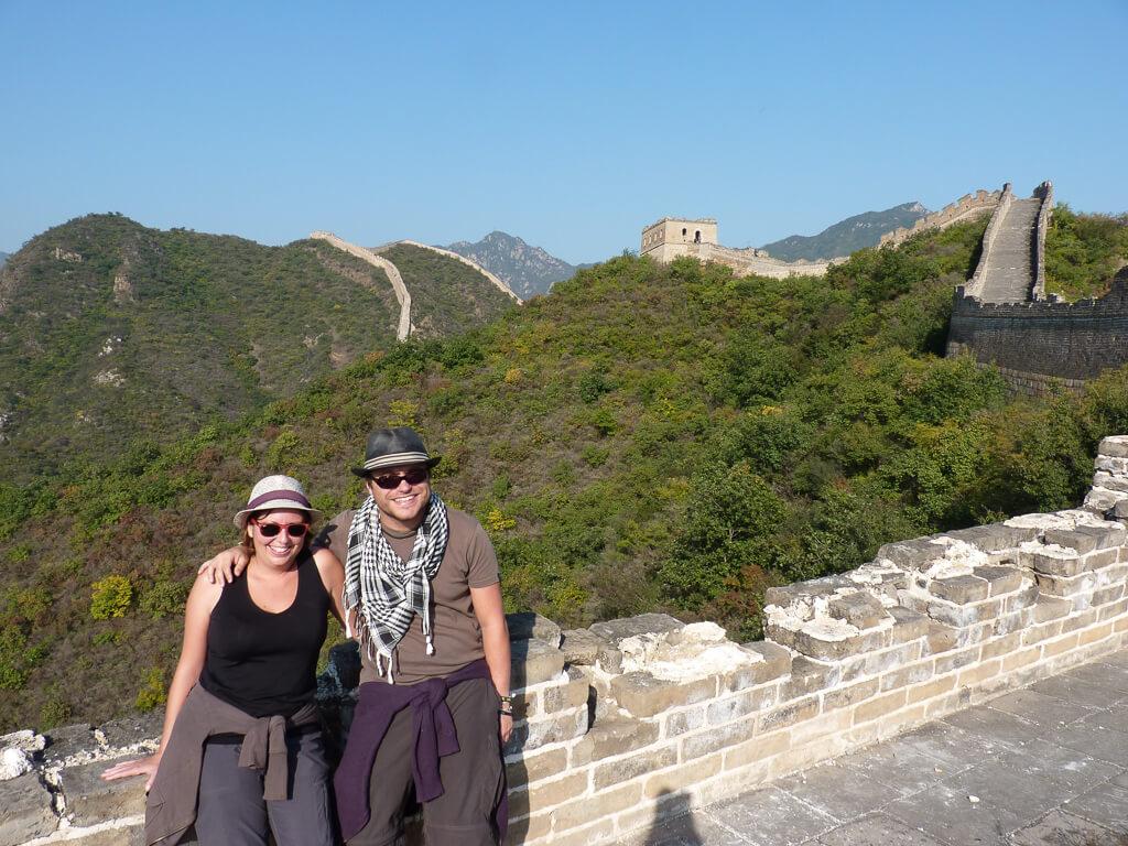 Великая китайская стена, объект всемирного наследия ЮНЕСКО