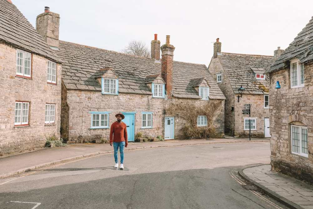 Удивительная 8000-летняя английская деревня и Дердл-Двер на юрском побережье Англии (5)