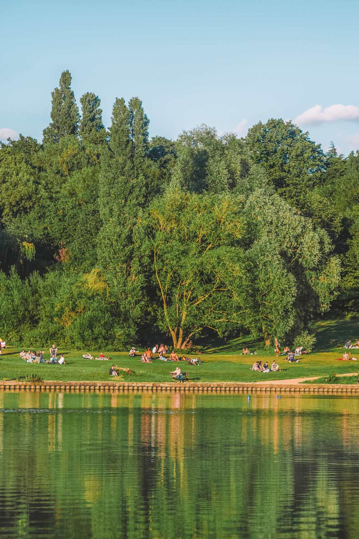 Риджентс-парк в Лондоне
