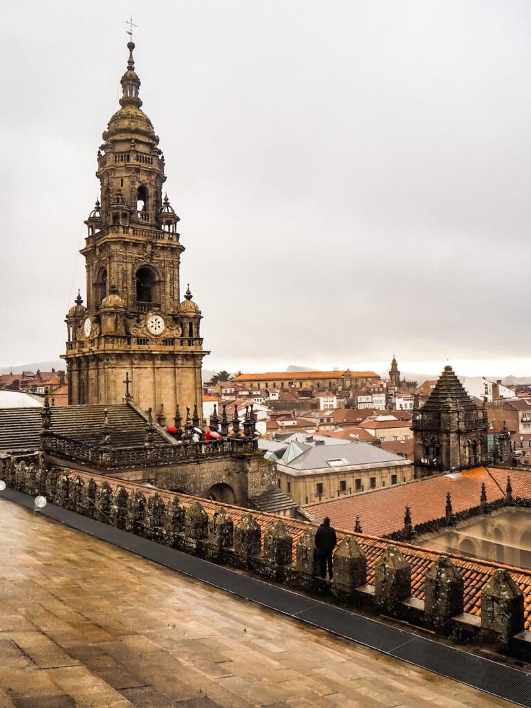 Крыша собора Сантьяго