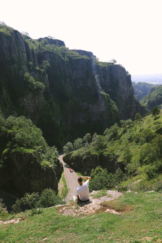 Ущелье Чеддер недалеко от Уэстон-Супер-Мэр
