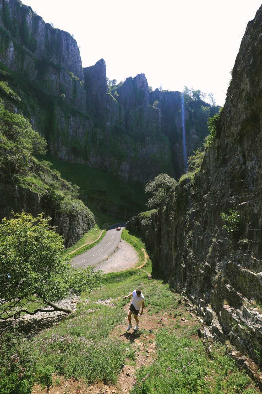 Ущелье Чеддер возле Уэстон-сьюпер-Мэр