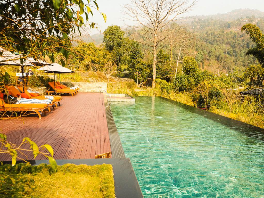 Бассейн в The Pavilions Himalayas Nepal