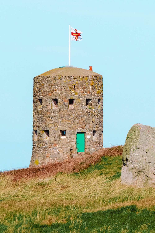 Башни с петлей на Гернси