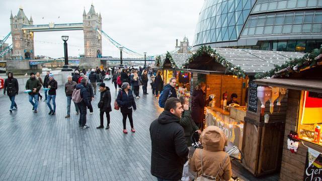 Риверсайд-рынок Лондон-Бридж-Сити