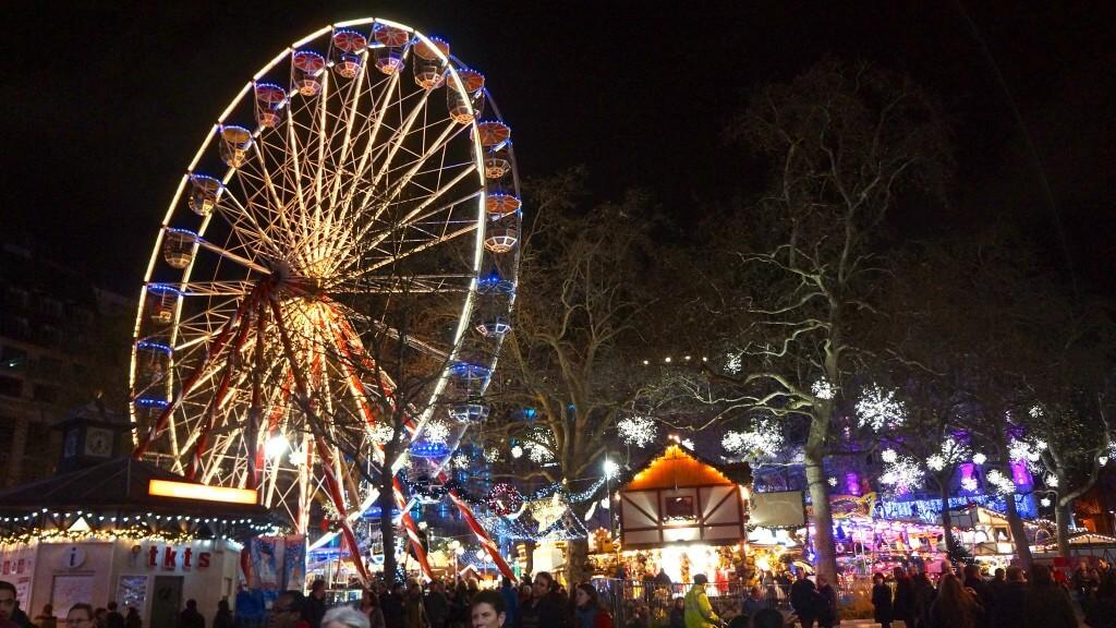 Рождественские ярмарки в Лондоне