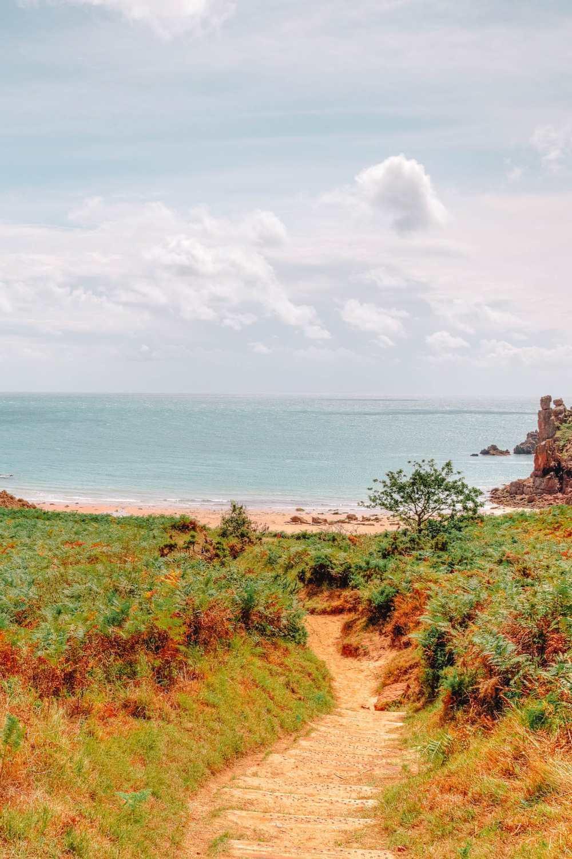 Пляж Бопорт в Джерси