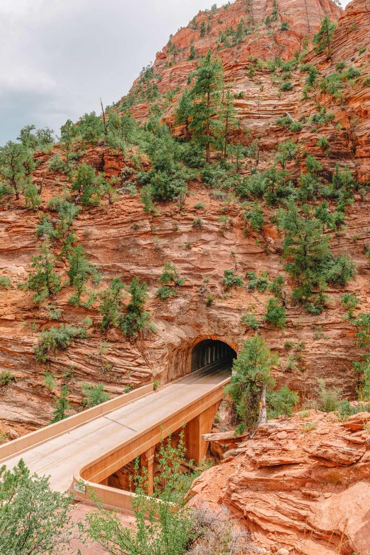 Туннель Кармел в национальном парке Зайон