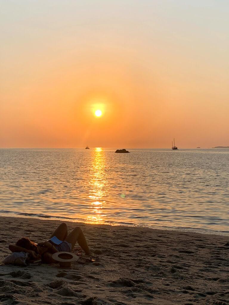 Пляж Сансет, Ко Липе
