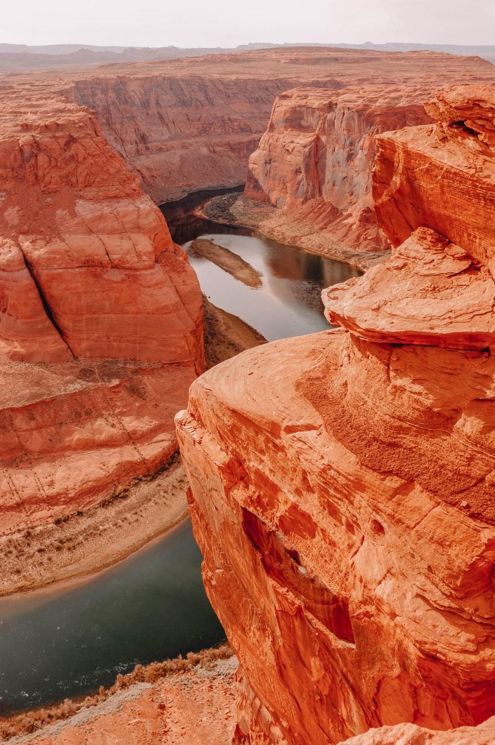 Подковообразный изгиб в Большом каньоне