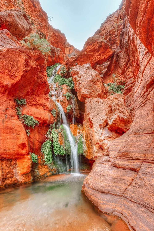 Водопад Хавасу в Большом каньоне