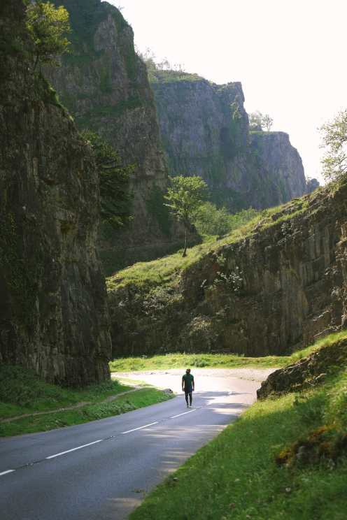Ущелье Чеддер недалеко от Уэстон-сьюпер-Мэр