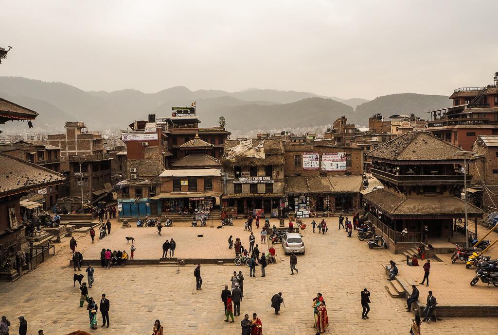 Места для посещения в Бхактапуре Непал