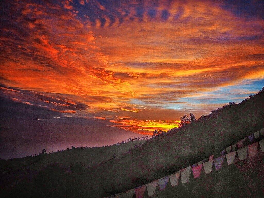 Восход солнца в Нагаркоте, Непал