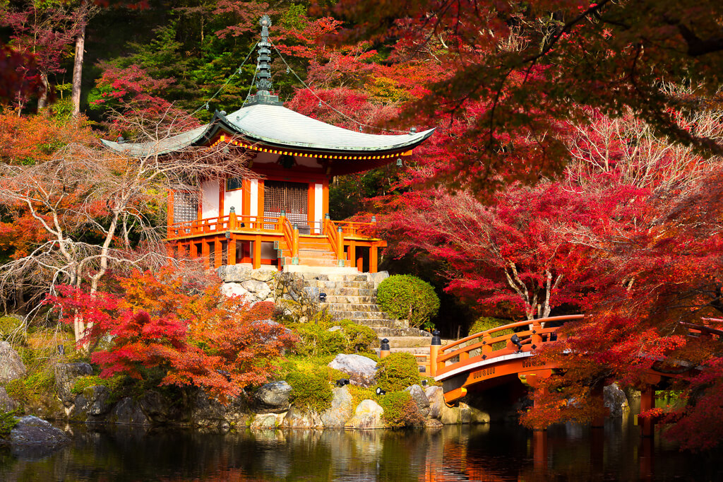 Удивительные места для посещения в Японии