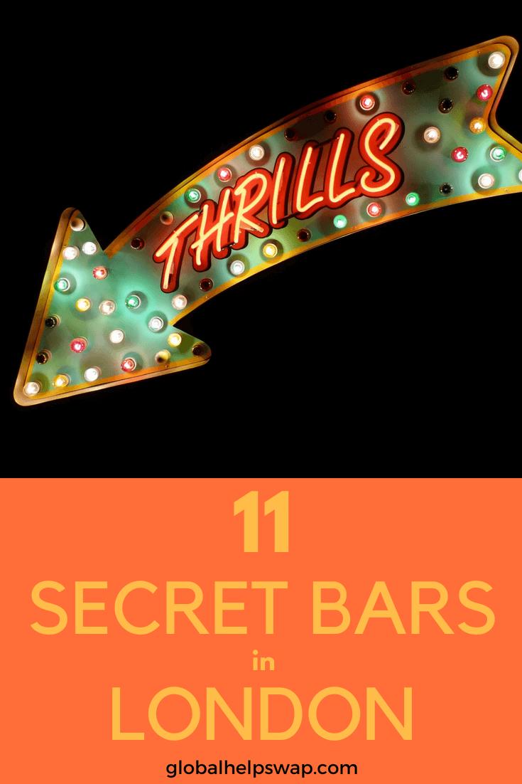 Если вы ищете секретные бары в Лондоне, то вы попали в нужное место. В этих скрытых подпитках подают лучшие коктейли в Лондоне. Здесь вы найдете все, от причудливых баров до супер-плюшевых.