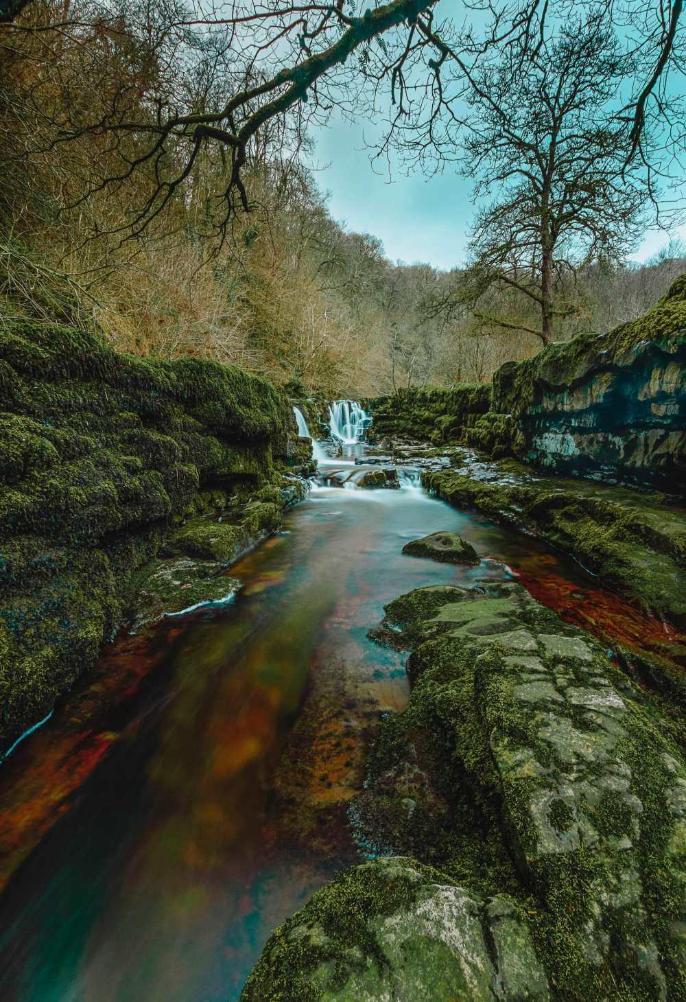 Водопады в Брекон-Биконс