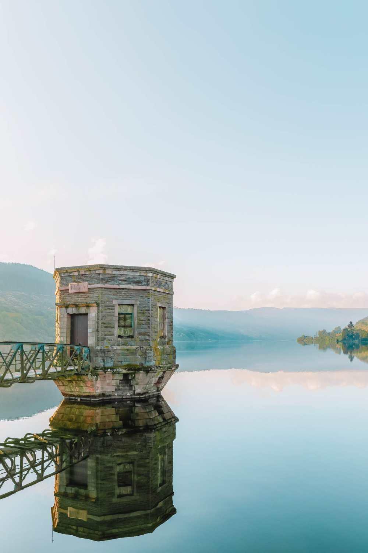 Талибонтское водохранилище в Бреконских маяках