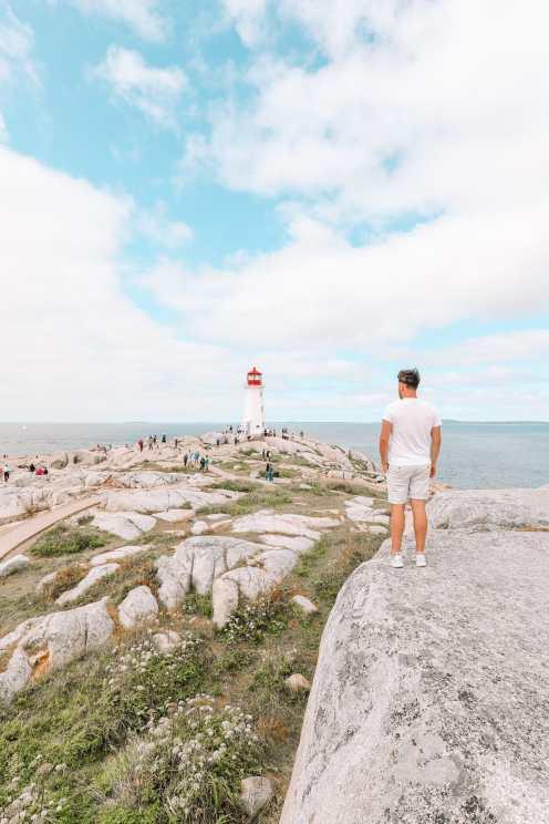 От Галифакса до бухты Пегги и Луненберга ... В Новой Шотландии, Канада (24)