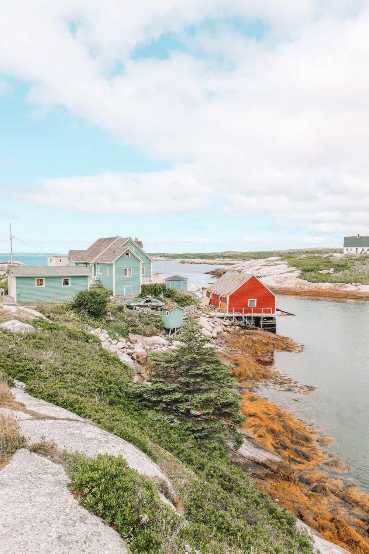 От Галифакса до бухты Пегги и Луненберга ... В Новой Шотландии, Канада (27)
