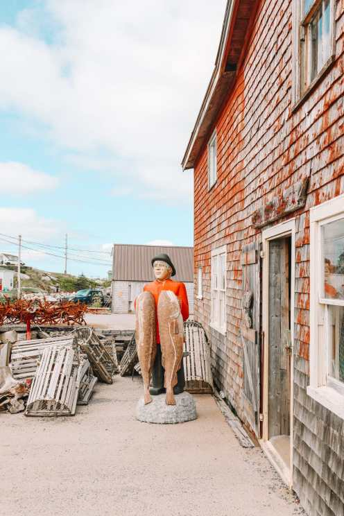 От Галифакса до бухты Пегги и Луненберга ... В Новой Шотландии, Канада (34)