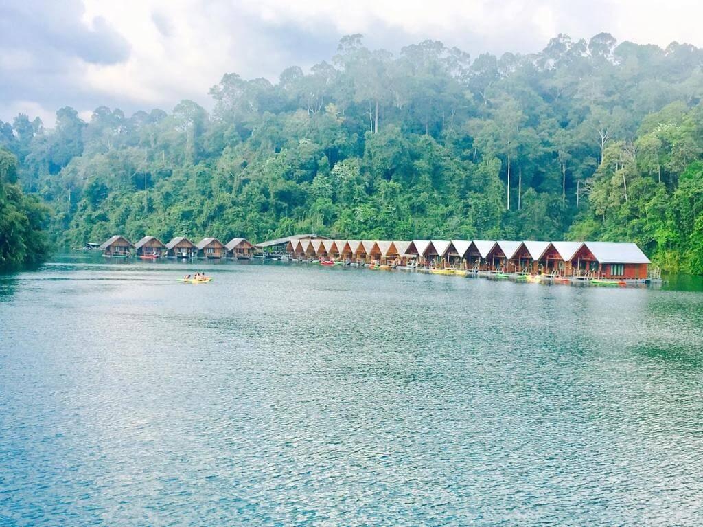 Плавающие бунгало Keereetara, Као Сок