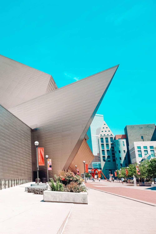 Художественная галерея в Денвере, штат Колорадо