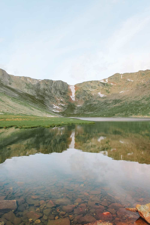 Гора Эванс в Денвере