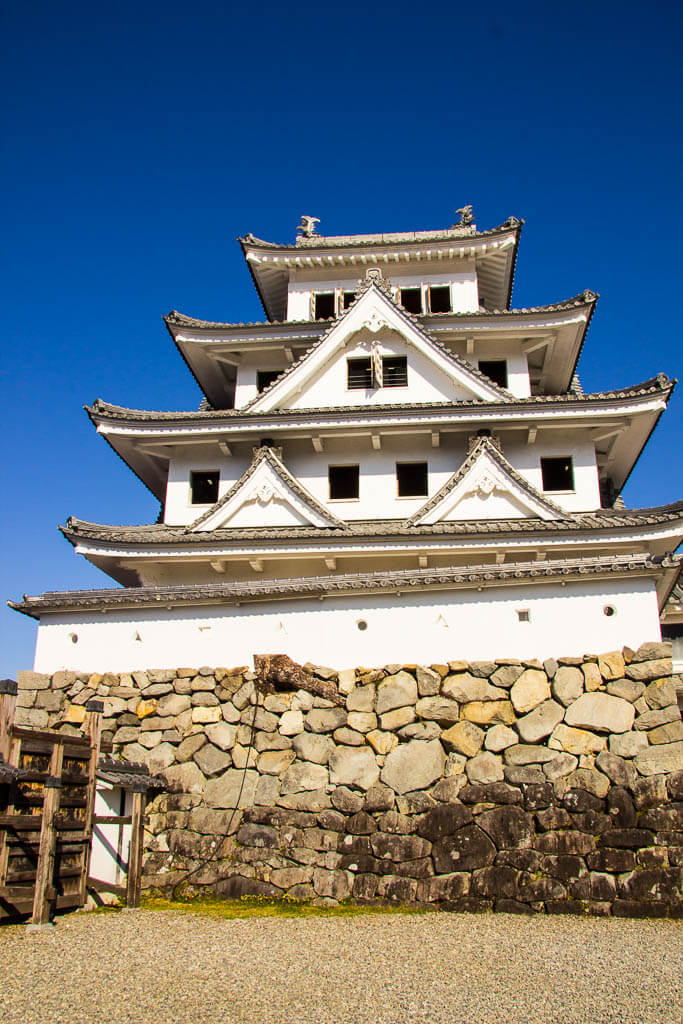 Замок Гудзё Хатиман, префектура Гифу, Япония