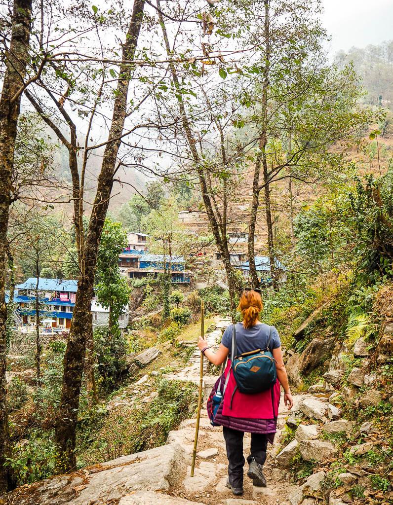 В Непале нет пластика