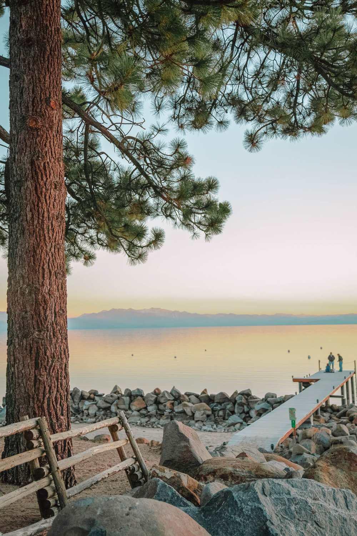Лучший пляж на озере Тахо