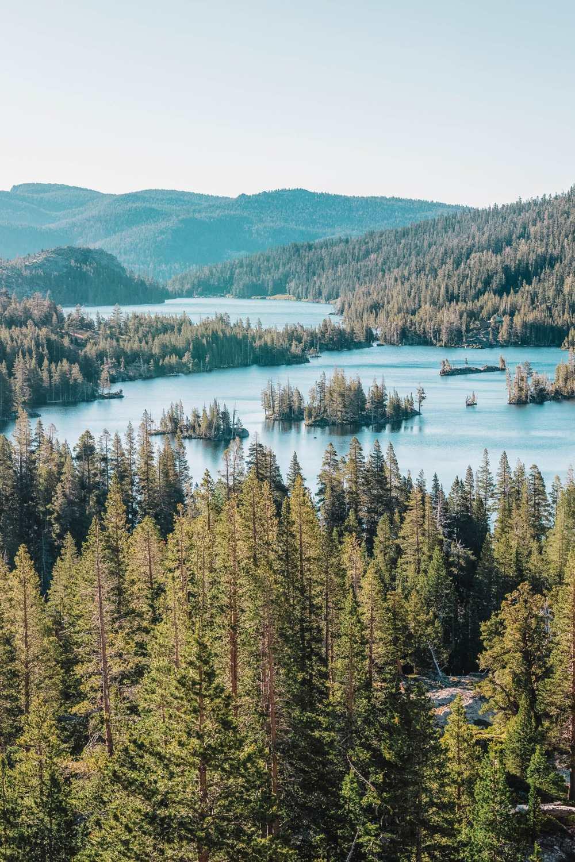Озеро Эхо на озере Тахо