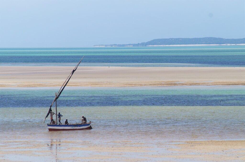 Пляж в Мозамбике, Африка