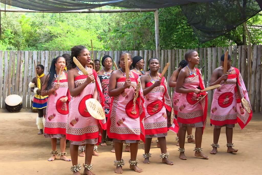 Деревенские женщины Свазиленда, Африка