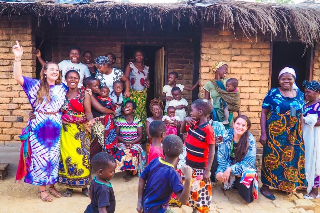 Деревенская жизнь в Малави, Африка