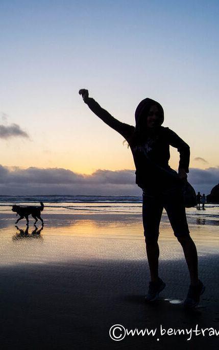 Пляж Лунного Камня, Калифорния