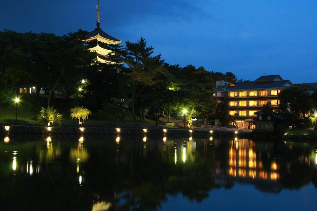 Сарусаваике Йошидая Нара Япония