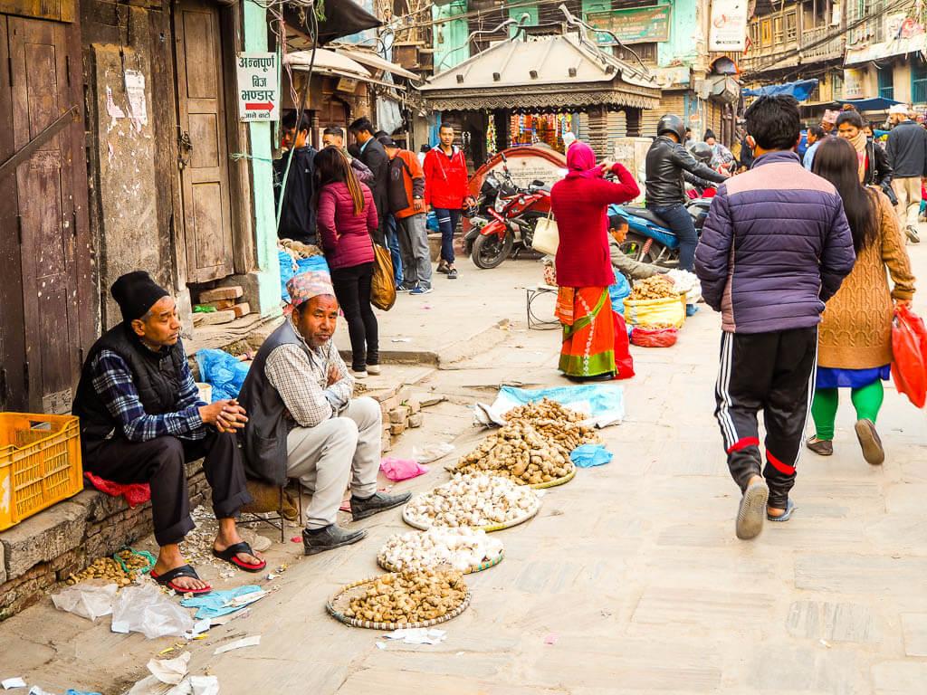 Хаотичный Катманду