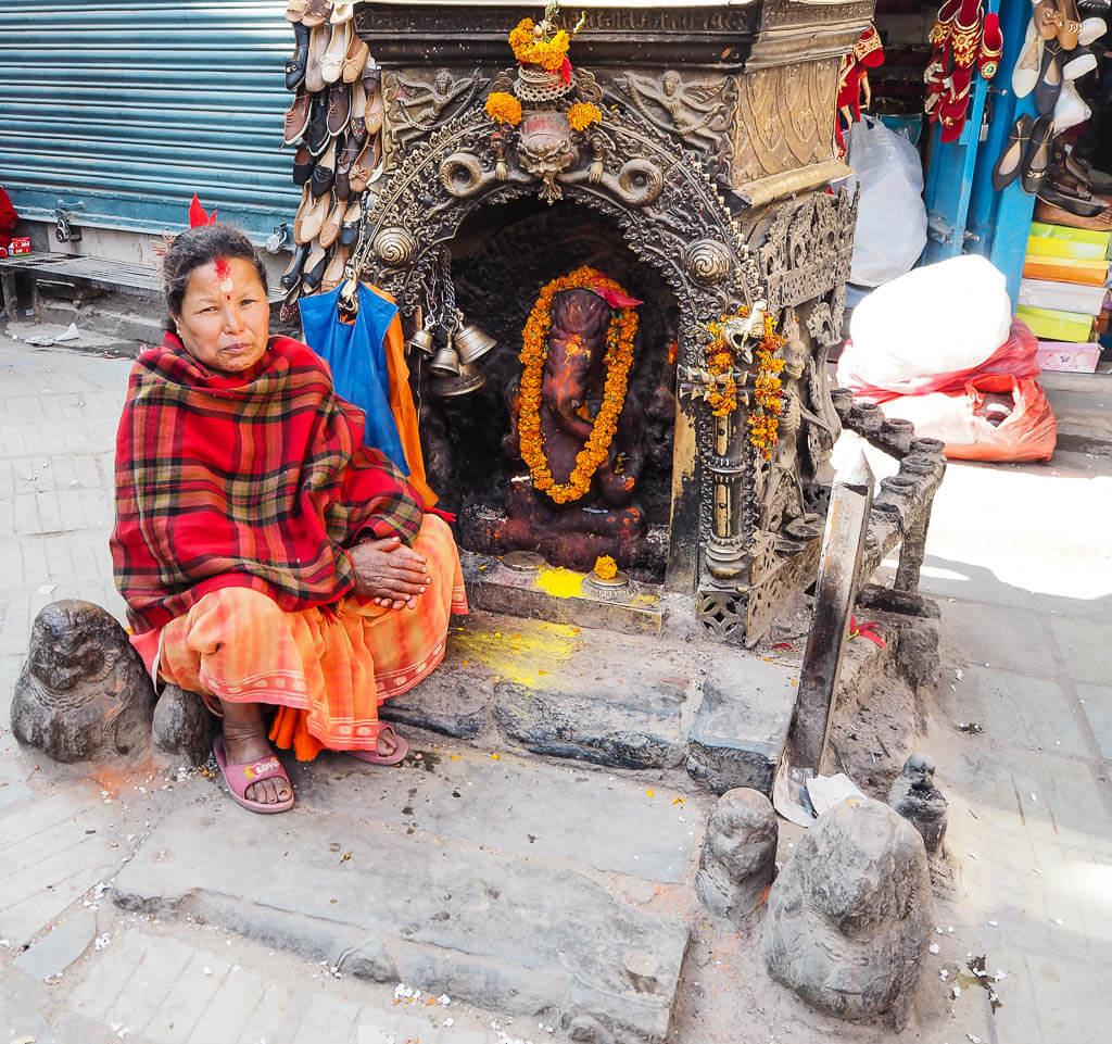 Жители Катманду